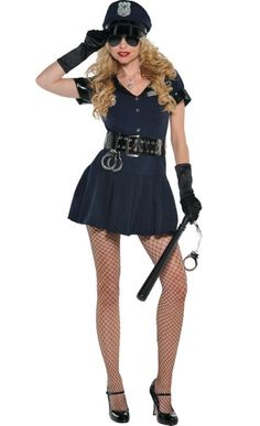 Adult Officer Rita Dem Rights Police Costume - Party City  sc 1 st  Pinterest & Police Costumes | Best Halloween Costumes u0026 Decor | @ Halloween ...