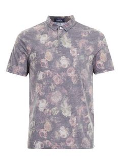 Floral prints aren't just for women! Usher spring in with this subtle floral polo shirt from Topman