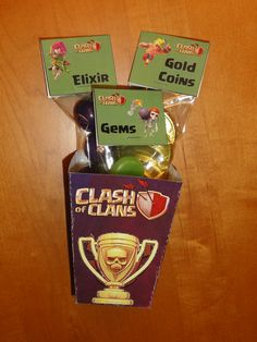 Clash of Clans Party Favors