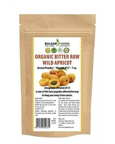 Raw Organic Bitter Apricot Kernel Powder  7 Oz * Learn more by visiting the affiliate link Amazon.com on image.
