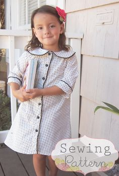 INSTANT DOWNLOAD Madeline Dress Size 12/18 to door sewsweetpatterns, $7.00