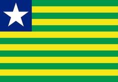 """Piauí com orgulho""""Bandeira"""""""