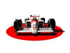 Horton Stephens - Ayrton Senna's McLaren Wilson Hennessy