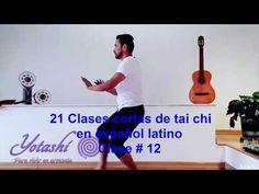 Clase 12 de #taichi para principiantes en español latino - YouTube Ayurveda, Kundalini Reiki, Qi Gong, Yoga, 1, Fitness, Eastern Philosophy, Medicine, Tai Chi Exercise
