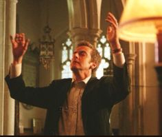 """Peter Capaldi on Midsomer Murders. """"I want it to be glorious!"""""""