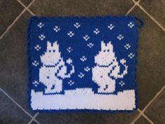 Tapestry Crochet Patterns, Dishcloth Knitting Patterns, Knitting Yarn, Free Knitting, Beaded Cross Stitch, Double Knitting, Pot Holders, Knitted Hats, Knit Crochet