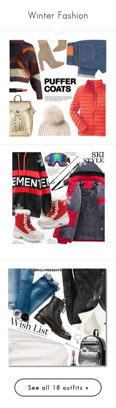 """""""Winter Fashion"""" by ames-ym ❤ liked on Polyvore featuring Mountain Hardwear, Anja, Woolrich, Victoria's Secret, Isabel Marant, PS Paul Smith, NARS Cosmetics, Gianvito Rossi, Bobbi Brown Cosmetics and MAC Cosmetics"""
