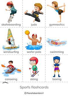 Kindergarten Flash Cards, English Worksheets For Kindergarten, Preschool Worksheets, English Classes For Kids, Kids English, Learn English, Kids Learning Activities, Preschool Activities, Teaching Kids