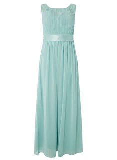 **Showcase Petite Green Thyme Maxi Dress