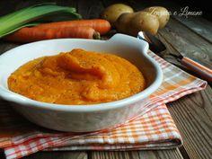 Calda, morbida, cremosa, nutriente e semplice. Ecco alcuni aggettivi che ben descrivonoquesta deliziosavellutata carote e patate.