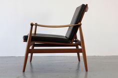 Teak easy chair by Finn Juhl, 1954.