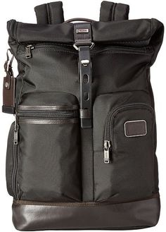 Tumi Alpha Bravo - Luke Roll-Top Backpack Backpack Bags
