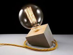 Lámpara Cubo de hormigón