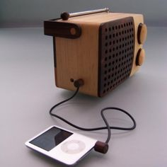 Magno wooden radio, unique and special eco friendly gift