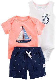 Absolufun Boy/&Baby Boy Short Sleeve Cute Lion Print Soft Shorts boy Outfit