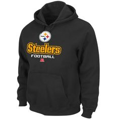 a64d8dcc3 Pittsburgh Steelers Black Critical Victory V Hoodie Sweatshirt Steelers  Gifts