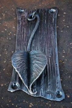 Custom Made Knock Or Leaf. Door Knocker