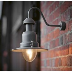 Check out the Wall Mounted Fishing Lamp in Lighting, Wall Lights & Sconces from Garden Trading for Front Door Lighting, Outdoor Wall Mounted Lighting, Outdoor Wall Lighting, Outdoor Walls, Modern Lighting, Outdoor Lantern, Lighting Uk, Balcony Lighting, Outdoor Sconces