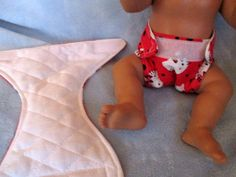 "13"" Baby Alive Others Handmade Cloth Velcro Diapers Set 2 Hello Kitty Red 