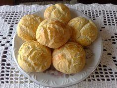 Pãezinhos de mandioquinha com batata