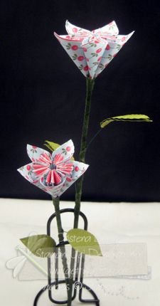 VIDEO TUTORIAL~ Kusudama Origami flowers