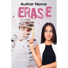 Erase- $60 - perfect for a book about relationships.  #bookcovers #indiebooks #custombookcover #custombook #ebooks #ebookcoverdesign #ebookcover #graphicdesigner #ilovebooks  #bookcoversforsale #bookstagram #writers #imwritingabook #indieauthor #indiewriter #photomanipulation #photoedits #authorsofinstagram #authorlife #art #bookart #selfpublished #nationalnovelwritingmonth #nanowrimo #nanowrimo2016 #exboyfriend #breakup #relationshipbook