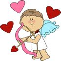 Let the Valentine's Day Games begin…again! I just love holidays in Kindergarten. Valentine Cupid, Valentine Wishes, Valentine Day Crafts, Valentine Hearts, Easy Diy Valentine's Day Cards, Cupid Love, Heart Clip Art, Love Heart Images, Love Holidays