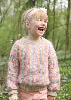 8b696982 Pickles - Be a Unicorn - Sweater - Pattern and Yarn Kit Pastel Colors,  Pickles
