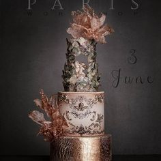 #anglecake #rosegoldcake #luxurycake
