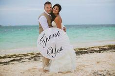 thank you wedding umbrella