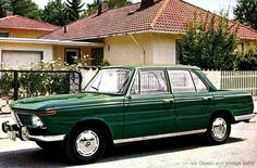 BMW 1800 (Neue Klasse) 1963 - 1971 The BMW 1800 was the second member of the New Class family, introduced in 1963 with a 90 hp kW) L engine. An ('touring international') model featured. Green Cars, Bmw Classic Cars, Benz Car, New Class, Expensive Cars, Extinct, Bmw Cars, Touring, Engineering