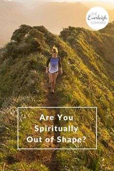 Are you spiritually out of shape? With every new year, there's always talks about eating healthy and exercising regularly. While there's absolutely nothing wrong with these resolutions, I want to challenge you to become spiritually fit as well. #Christian