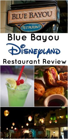 Make reservations in advance of trip!  Disneyland Blue Bayou Restaurant Review
