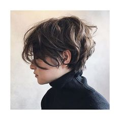 Hair styling can be regarded as a distinctive talent. Short messy pixie hair appears awesome whenever the locks are straight. Short hair is simpler to look after. Short Curly Hair, Short Hair Cuts, Curly Hair Styles, Pixie Cuts, Pixie Wavy Hair, Short Messy Bob, Long Pixie, Short Wavy, Style Short Hair Pixie