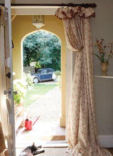 Sprig Curtains, such a delightful rosebud design.