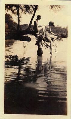 Summertime dips. 1930s