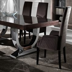 Mobil Fresno Abril High Back Dining Chair Luxury Furniture From ...