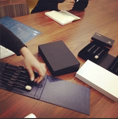 Under development of Brand new brush set's packaging | Mizuhi Brush, Japan