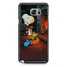 Snoopy TATUM-9741 Samsung Phonecase Cover Samsung Galaxy Note 2 Note 3 Note 4 Note 5 Note Edge