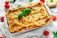 lasagne recept   Mindmegette.hu Cooking Together, Quiche, Pizza, Cheese, Dinner, Breakfast, Ethnic Recipes, Food, Snap Peas