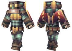 Steampunk Batman Minecraft Skin A steampunk styled Batman.