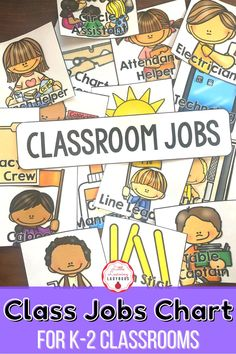 Set up a smooth running classroom from day one with these classroom management tips and tricks for running a tight ship! My classroom management set up, systems, and routines resources will help you create systems, set clear expectations, and establish solid routines for your students and families. Included is a class jobs chart for promoting student responsibility! Calm Classroom, Classroom Jobs, First Grade Classroom, Classroom Environment, Classroom Organization, Classroom Decor, Primary Resources, Teacher Resources, Class Jobs
