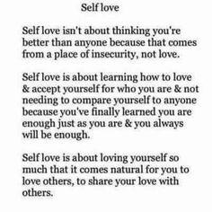 Self Love!