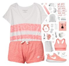 """""""Mila"""" by sarahkatewest ❤ liked on Polyvore featuring NIKE, Aéropostale, RyuRyu, Alessi, Rosenthal, Frette, Osram, Schott Zwiesel, COLAB and Bobbi Brown Cosmetics"""
