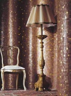 Mosaic Sitting Room by Bisazza Verre Design, Mosaic Designs, Modern Glass, Life Design, Utrecht, Mosaic Tiles, Glass Tiles, Exterior Design, Luxury Homes