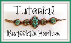 Tutorial Componente e Bracciale perlinoso | DIY beaded bracelet and supe...