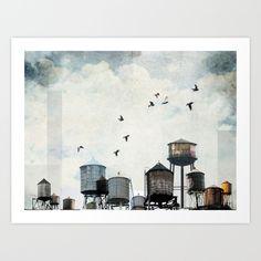 Watertanks 2 by Tim Jarosz