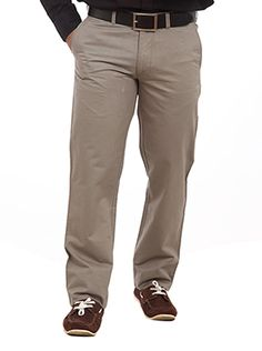 With its unique design and soft fabric this pair of trousers will keep you comfortable all day long. Crafted with pleat less cross pockets this trouser is wrinkle free. Paired with a leather belt these trousers will look great when worn on formal shirts. These Alpine lined trousers have a regular fit and have two side pockets. The pockets features button closures on the back and adjustable hems. The Color Plus Medium Grey Trousers will look great when worn for formal meetings and social ...