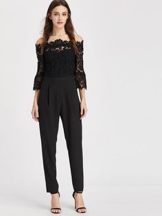 Loyal Womens Casual Lace Floral Sleeveless Tops Jumpsuit Ladies Evening Party Long Playsuit Soft Skinny Slim Soft Elegant Jumpsuits To Enjoy High Reputation In The International Market Women's Clothing