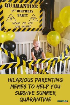 40+ Hilarious Parenting Memes to Help You Survive Quarantine  Nothing helps cure the quarantine blues like funny parenting memes! We rounded up some of the most popular memes, and they're guaranteed to make you LOL.  #Humor #Parentinghumor #memes